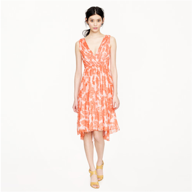 Frances Dress in Watercolor Floral $236 (was $295)