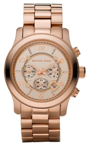 Michael Kors Goldtone Rose Chronograph $179 Watches on net