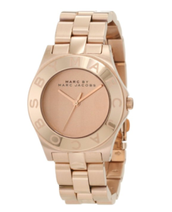 Marc by Marc Jacobs Rose Gold Watch $205 Amazon