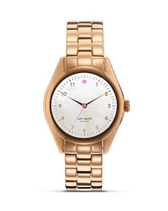 Kate Spade NY Rose Gold Seaport Bracelet Watch $225 Bloomingdales