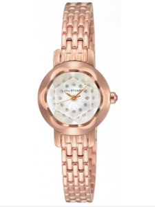 Jill Stuart Rose Gold & Swarovski Crystal $460 Watch Co.