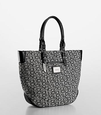 Logo Jacquard Tote Bag $119 at CALVIN KLEIN