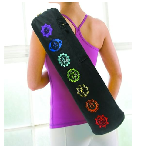 Chakra Embroidered Yoga Mat Bag $19.99 at BARNES & NOBLE