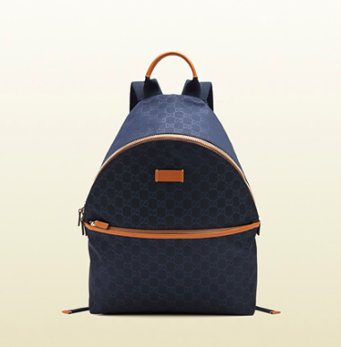 Gucci Guccissima Nylong Backpack $990 at GUCCI