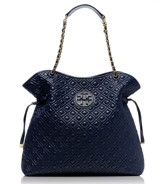 Marion Quilted Slouchy Tote $635 at TORY BURCH