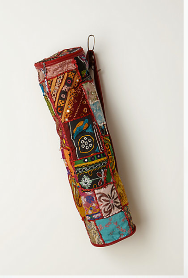 Vintage Tapestry Yoga Bag $88 at ANTHROPOLOGIE