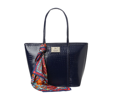 LOVE Moschino Navy Tote $275 at ZAPPOS COUTURE