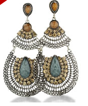 Large Silver-tone Pearl Drop Earrings $6 at SUPERJEWELER