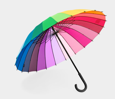 Color Wheel Umbrella $48 at MOMA STORE