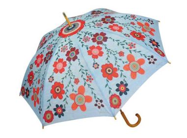 Modern Retro Floral Umbrella $20 at ARTIST GIFTS