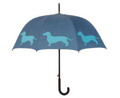 Blue Dachshund Dog Umbrella $28 at OVERSTOCK