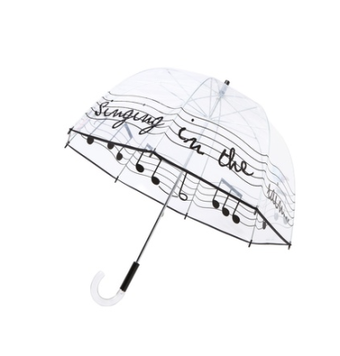 "Felix Rey ""Singing In The Rain"" Umbrella $65 at OVERSTOCK"
