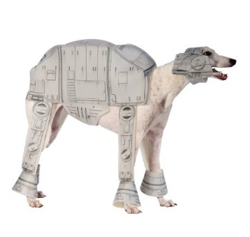 Star Wars AT AT Walker Dog Costume $18 at AMAZON