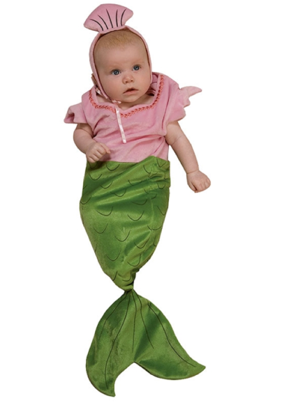 Baby Mermaid Costume $18 at TOTALLY COSTUMES