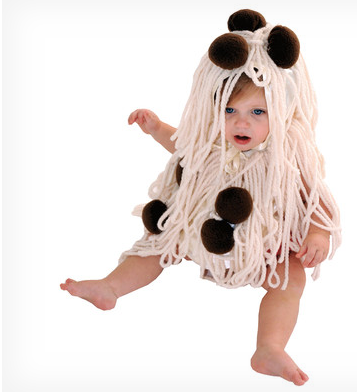 Spaghetti & Meatballs Baby Costume $23 at WAYFAIR