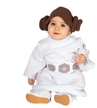 Baby Princess Leia Costume $19 at WHOLESALE COSTUME CLUB