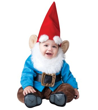 Garden Gnome Baby Costume $55 at BUYCOSTUMES.COM