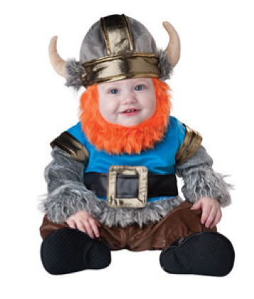 Lil Viking Baby Costume $59 at CHASING FIREFLIES