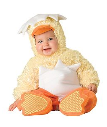 Lil Chickie Baby Costume $40 at COSTUME DISCOUNTERS