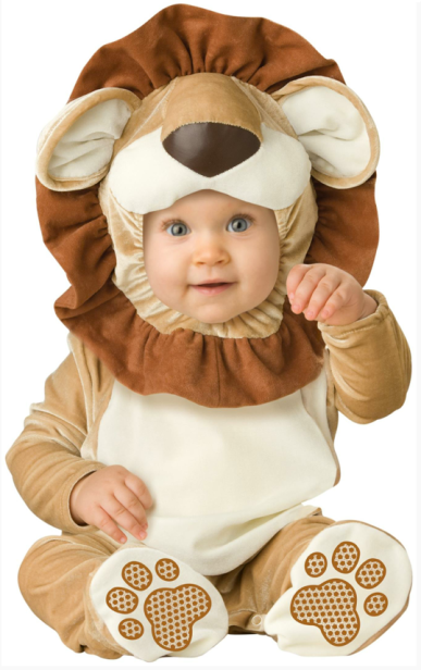 Lion Baby Costume $20 at PARTYBELL
