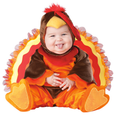 Little Turkey Baby Costume $60 at KOHLS