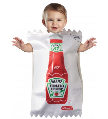 Ketchup Packet Baby Costume $25 at JUST KID COSTUMES