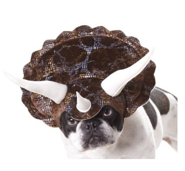 Triceratops Dog Costume $9 at AMAZON