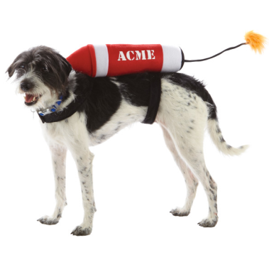 Acme Dynamite Dog Costume $9 at PETSMART
