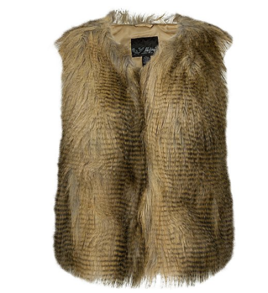 Daytrip Faux Fur Vest $53 on sale at Buckle