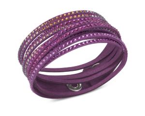 Swarovski Slake Ruby Wrap Bracelet $70 at Swarovski