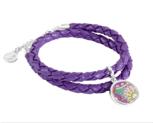 Braided Charm Bracelet (in various colors) $22 at Vera Bradley