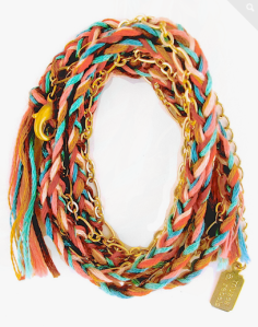 Gold Southwest Braided Wrap Bracelet $59.98 at Jewel Mint