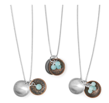 Nest egg Necklace $68+ at Uncommon Goods
