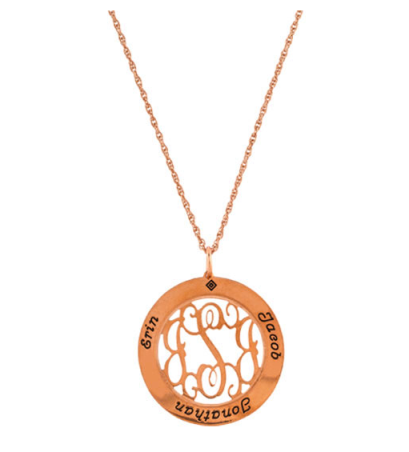 Copper Mother's Necklace $138 at Chasing Fireflies