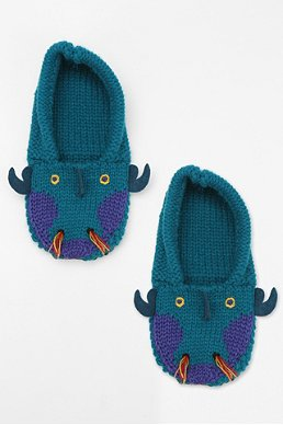 Animal Slipper Sock $16 at Urban Outfitters