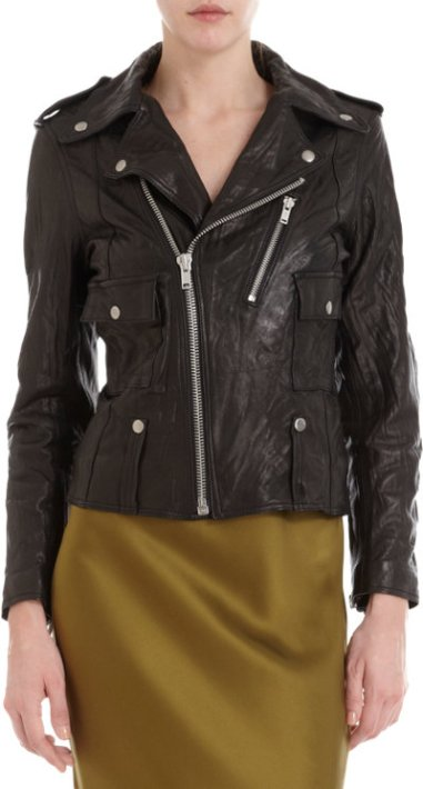 Nili Lotan Biker Jacket $1,295 at Barneys