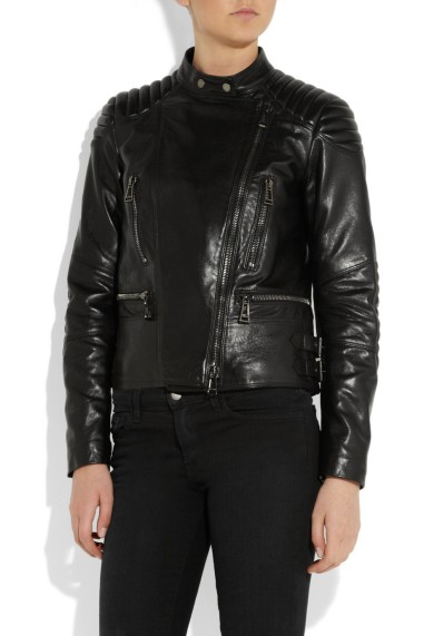 Belstaff Sidney Leather Biker Jacket  $2,495.00 at Net-A-Porter