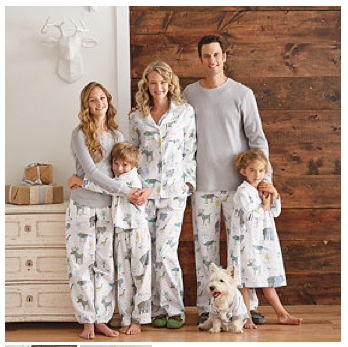 Winter Forest Family Pajamas $42 - $49 at THE COMPANY STORE