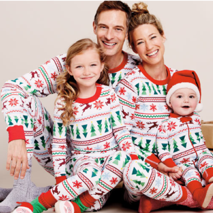Organic Cotton Family PJs $42 - $78 at HANNA ANDERSON