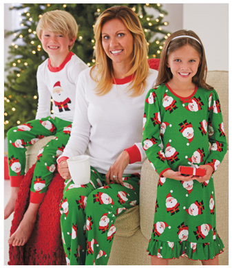 Family Santa Pajamas Set $36 - $56 at CWD KIDS