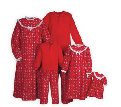 Stocking Sleepwear Family Set $42 - $76 at WOODEN SOLDIER