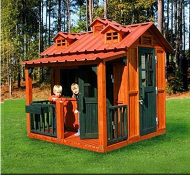 Gorilla Playsets Breckenridge Playhouse $1765 at BABYAGE