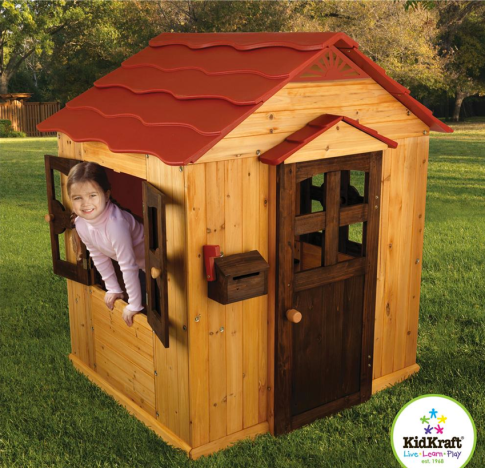 KidKraft Outdoor Playhouse $339 at BABYAGE