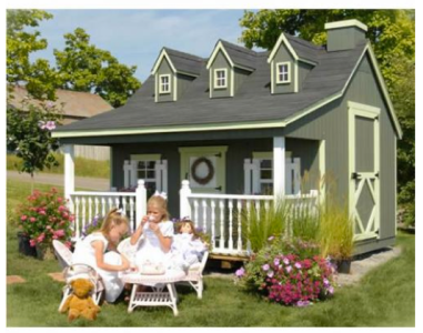 Country Cottage Playhouse $2995+ at SWEET RETREAT KIDS
