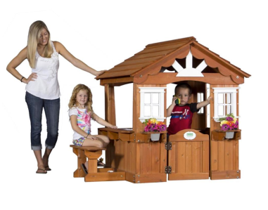 Backyard Discovery Scenic Play House $379 at OVERSTOCK