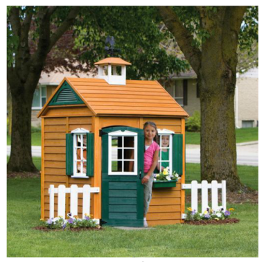 Big Backyard Bayberry Wooden Playhouse $249 at WALMART