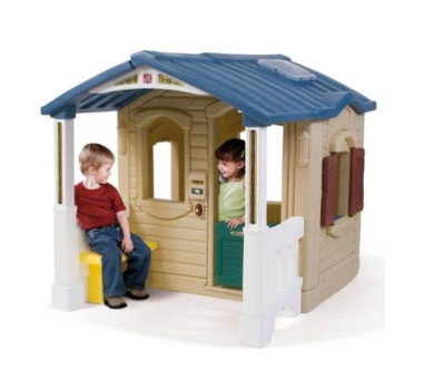 Step2 Naturally Plaful Front Porch Playhouse $308 at AMAZON