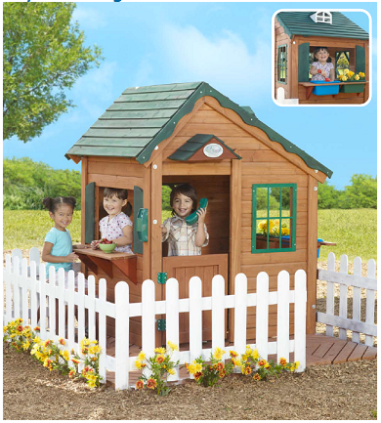 Mayfield Cottage by Creative Cedar Designs $230 at eTOYS
