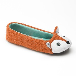 SO Fox Ballerina Slippers $24 at Kohl's
