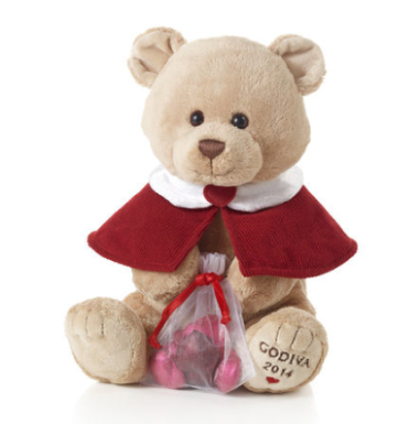 Exclusive 2014 Pierre the Bear by Gund $25 at Godiva